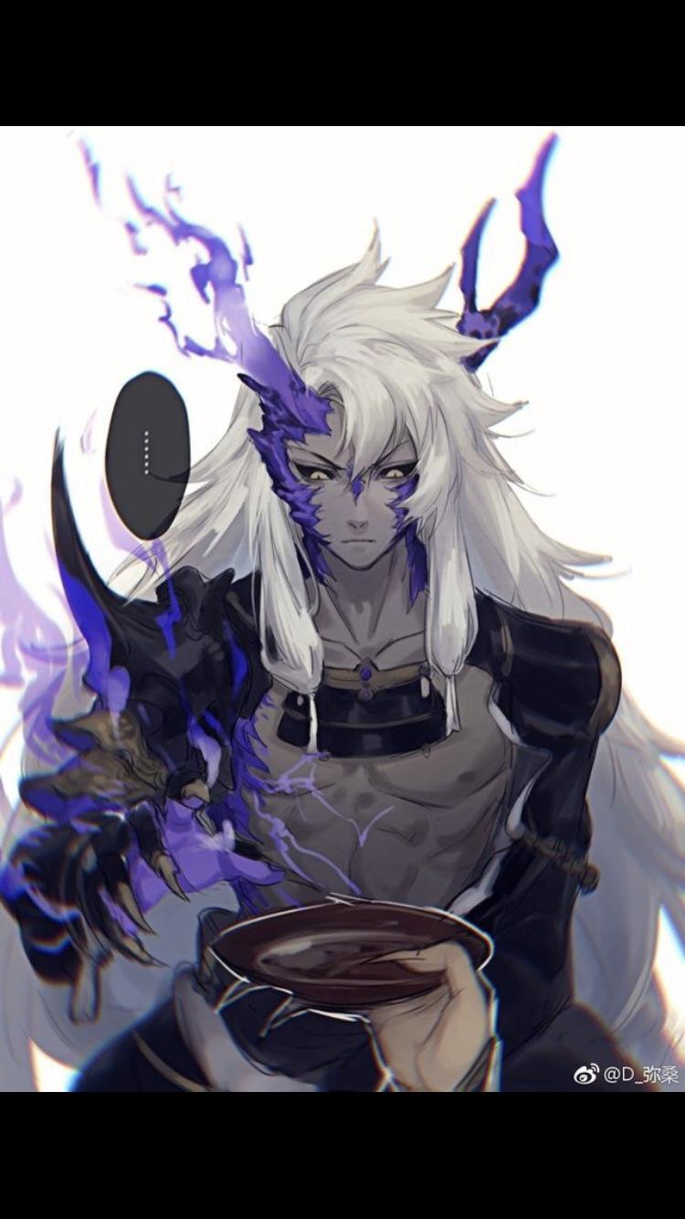 Male Anime Demon : anime, demon, Amélie, Dirringer, Manga, Character, Anime, Demon,, Fantasy