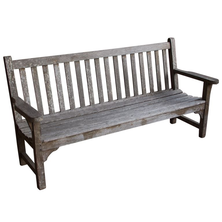 Astounding Vintage English Wooden Bench Bench Vintage Bench Bench Uwap Interior Chair Design Uwaporg