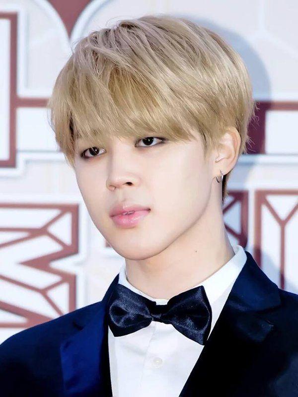 Jimin 2k16 Blonde Hair