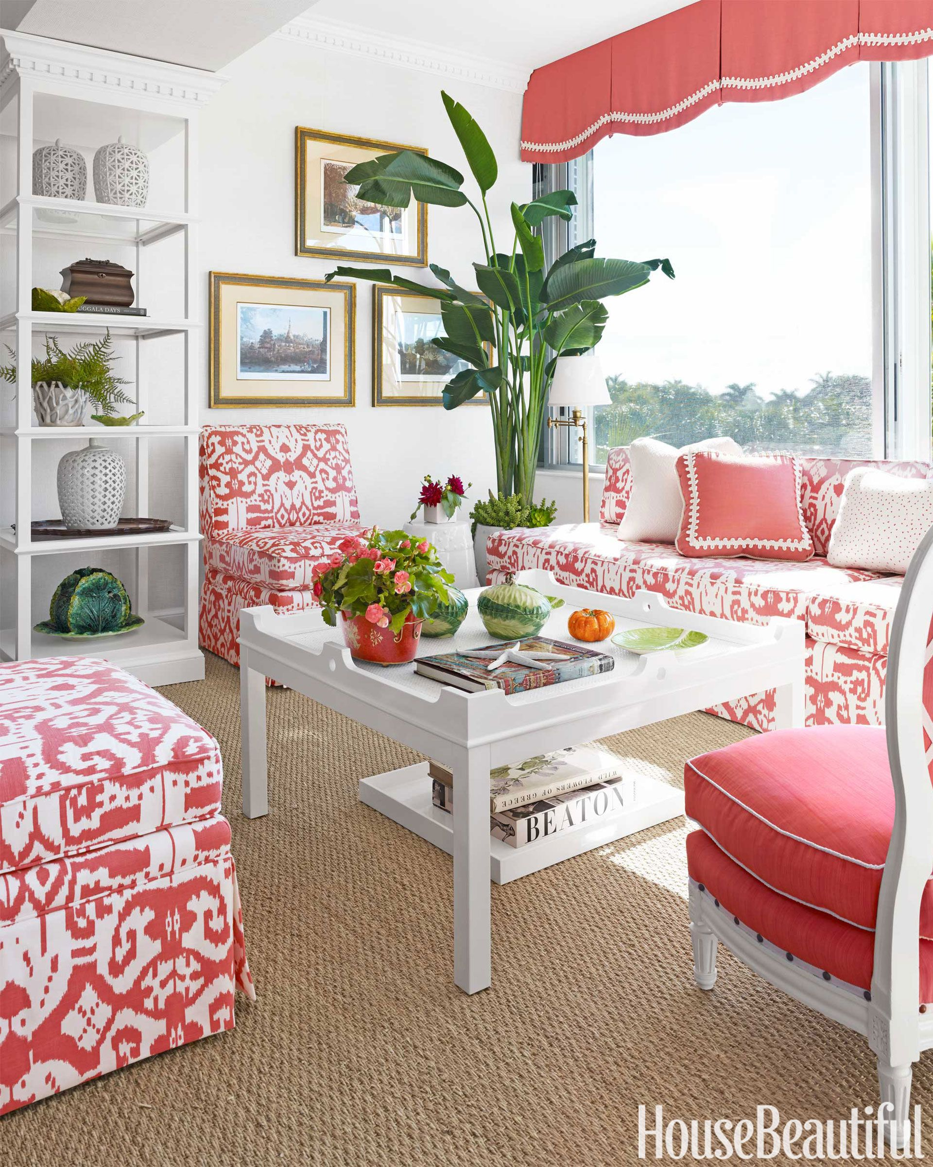 Superb A Tropical Inspired Living Room
