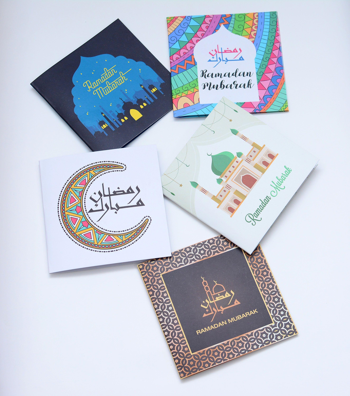 Ramadan Mubarak Greeting Cards Islamic Cards Islamic Greeting