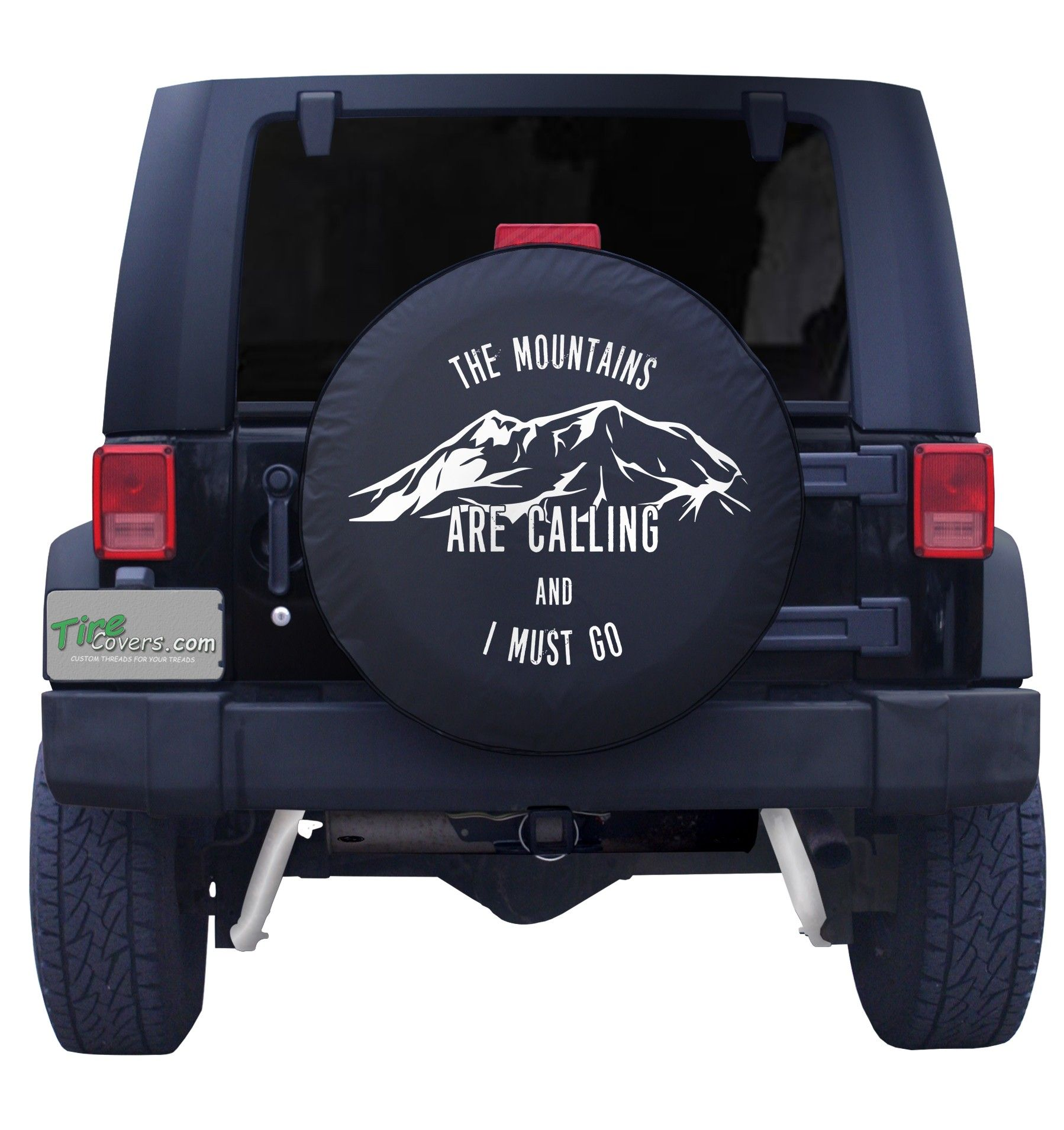 The Mountains Are Calling Spare Tire Cover Tire Cover Spare