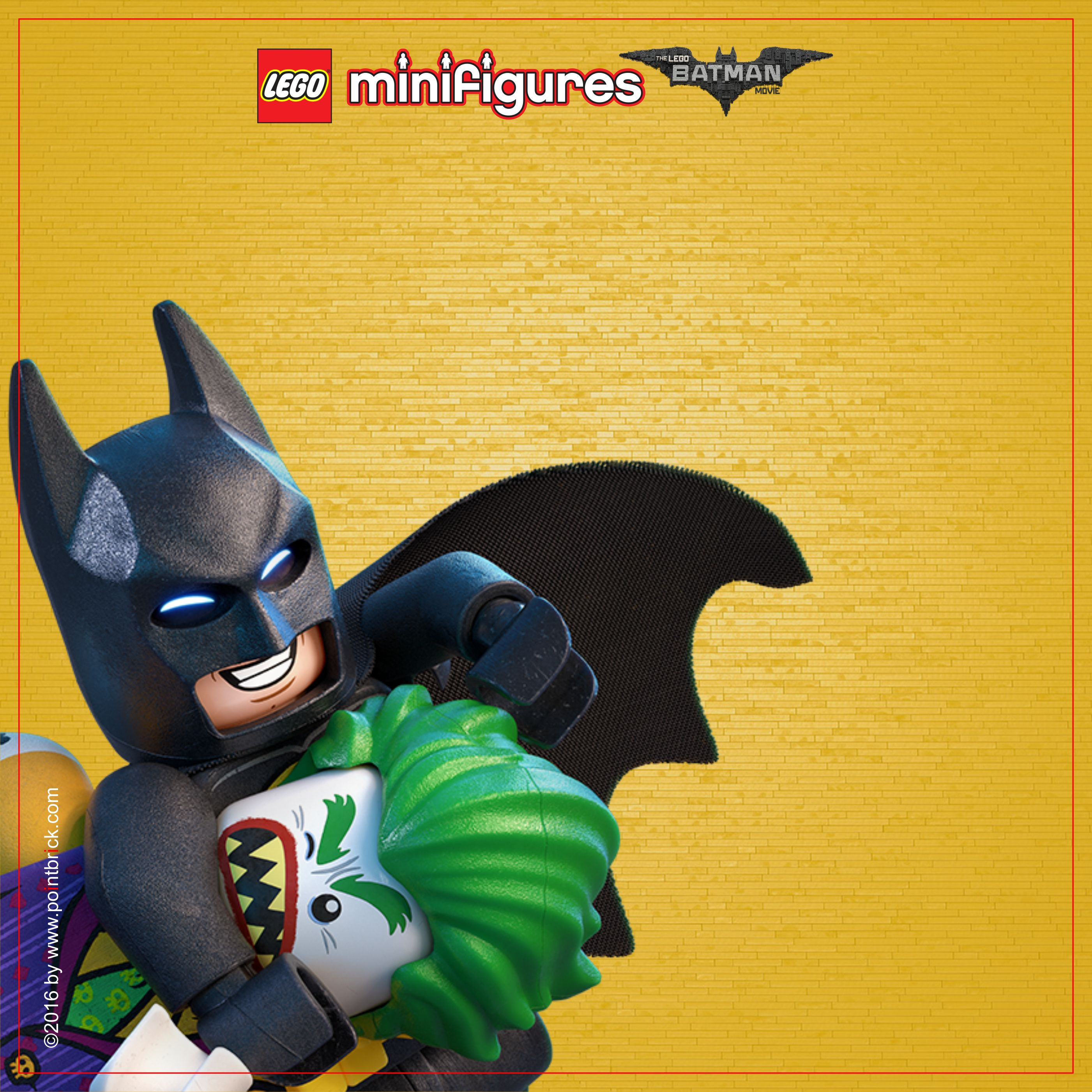 Lego minifigures display sfondi lego batman movie for Sfondi batman