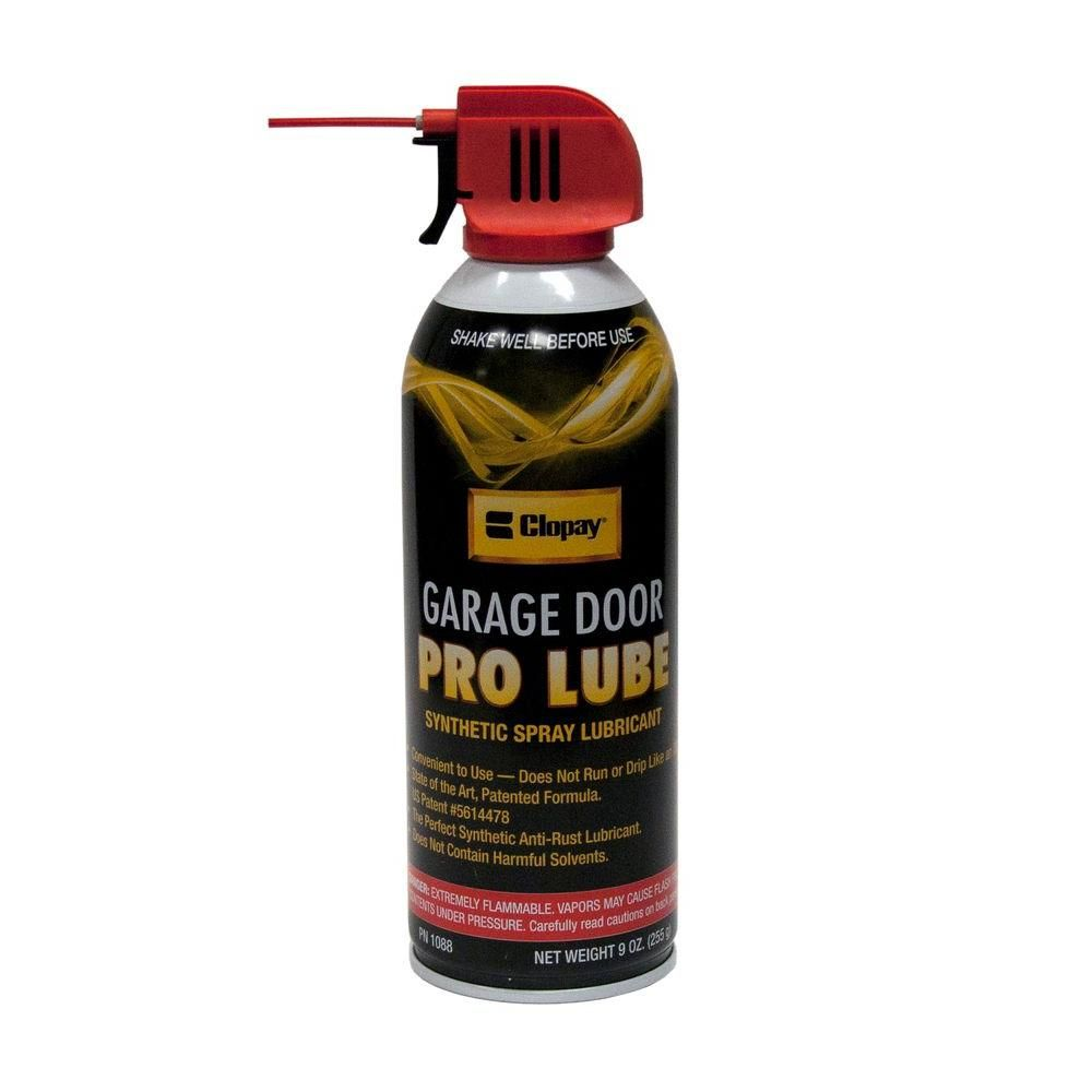 Clopay Synthetic Pro Lube For Garage Doors Garage Doors Garage Door Insulation Garage Door Insulation Kit