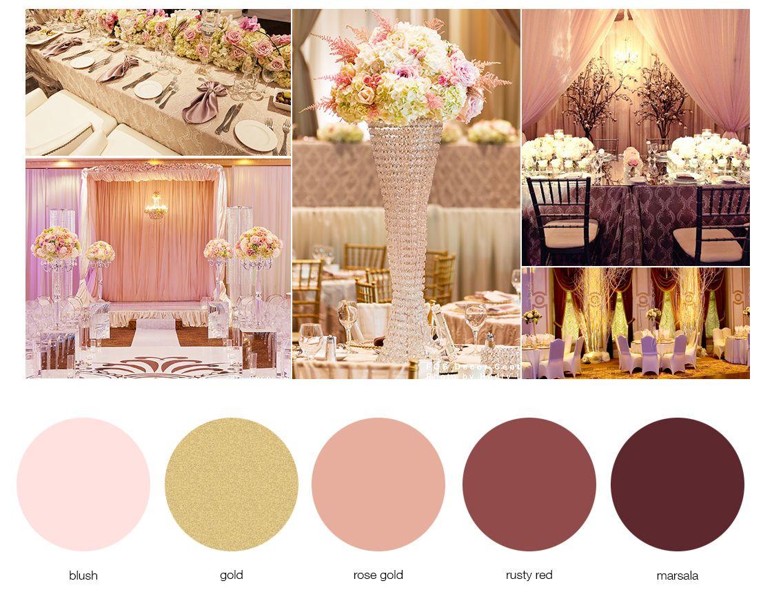 Google theme rose - Marsala And Blush Color Google Search