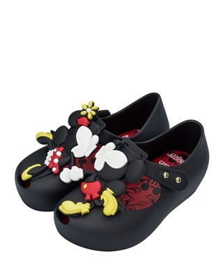 83fd21084 Mini Melissa Ultragirl Disney Twins III Mary Jane Flat, Toddler