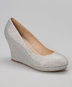 617c48989ee35 1000+ ideas about Silver Wedges on Pinterest