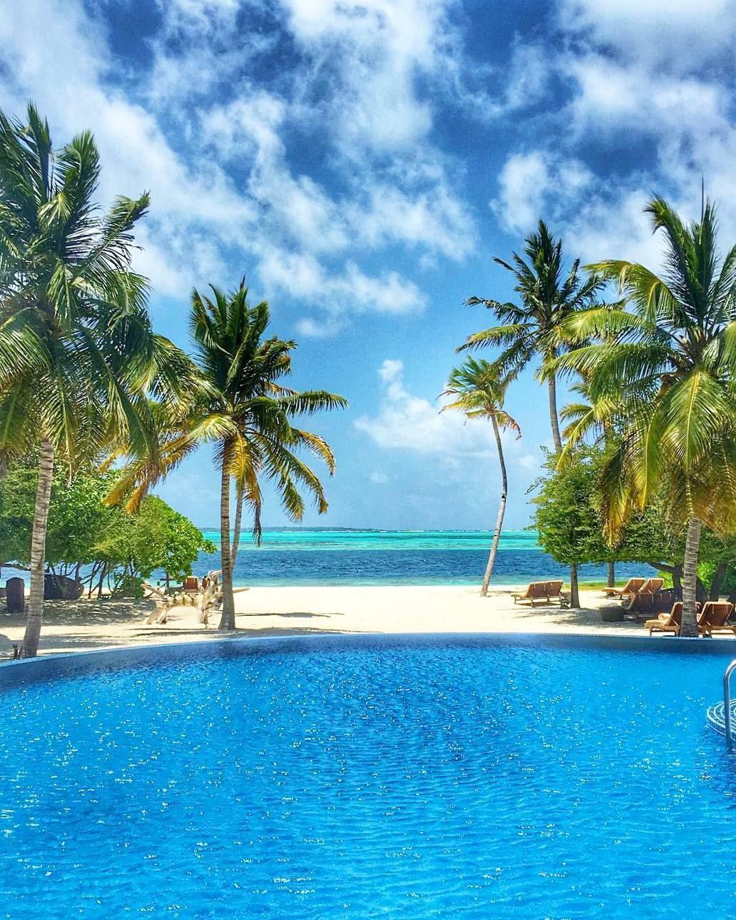 The Maldives Island Hideaway Beach Resort Spa Maldives 海 絶景 絶景 景色