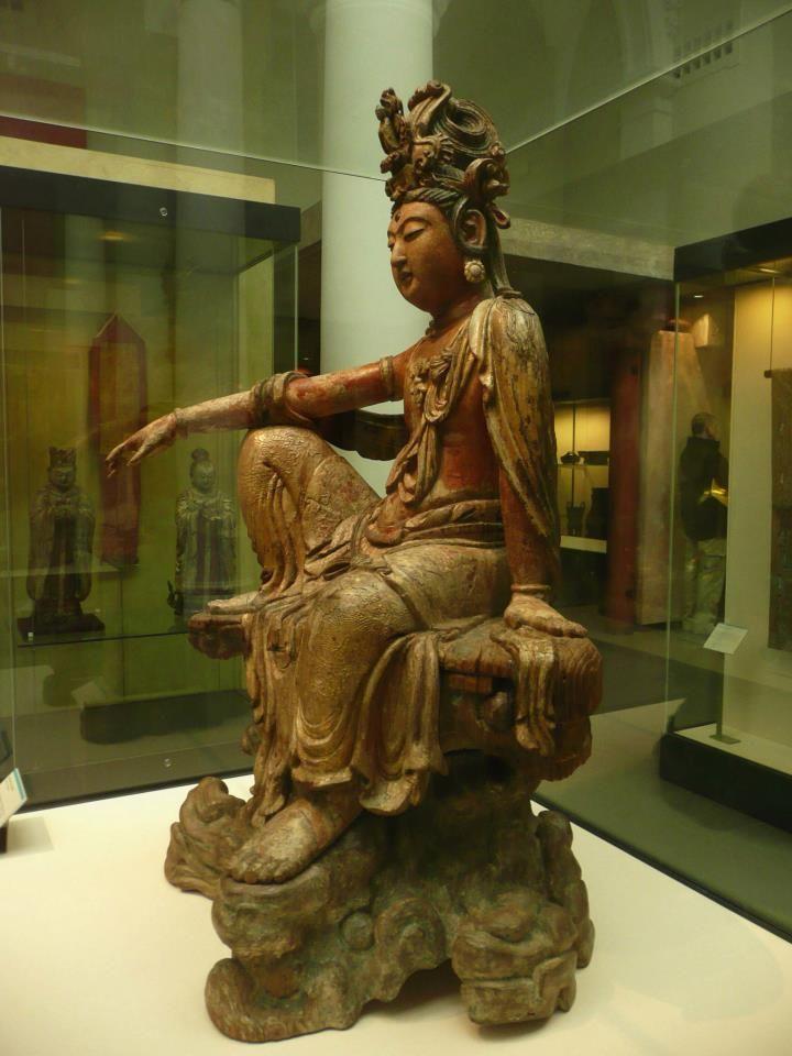 At the british museum london british museum buddha statue