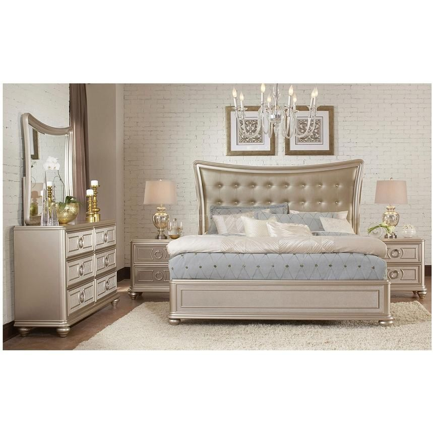 Dynasty King Platform Bed Platform Bedroom Sets Bedroom Panel Bedroom Set