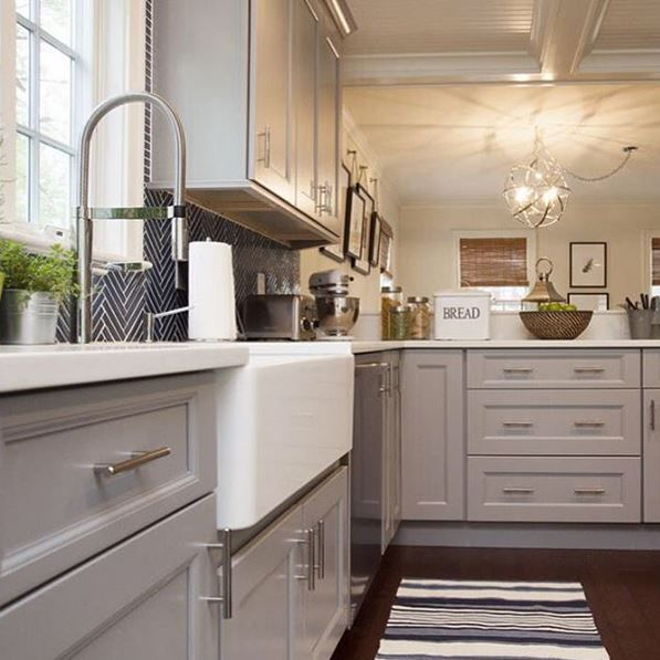 Nice Kitchen Design · Our BLANCOCULINA And BLANCO CERANA Fireclay Sink On Property  Brothers More