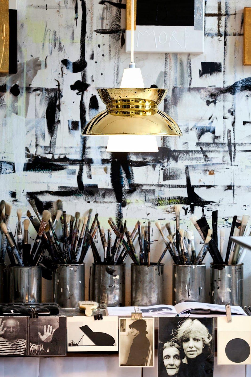 Haal je inspiratie uit de mooiste creatieve ateliers art studios
