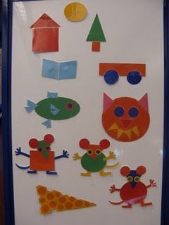Mouse Shapes by Ellen Stoll Walsh #feltboardstories #flannelfriday #storytime #flannelboard