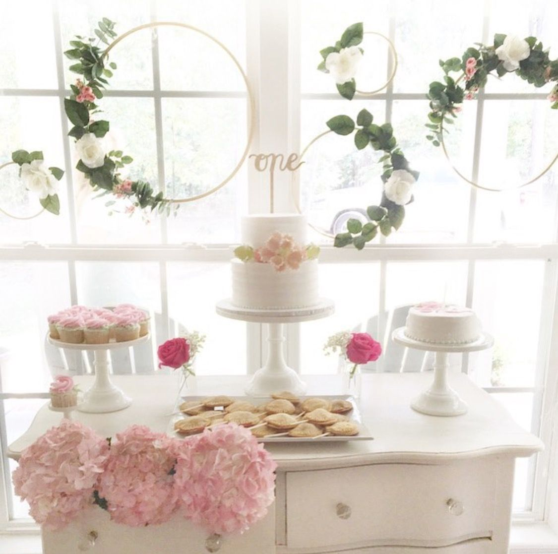 Birthday Table Top Decorations: Lola In Onederland In 2019
