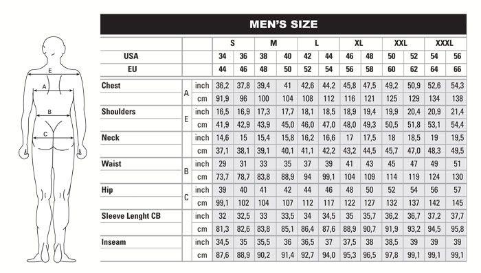 Men_BodySize2_02.jpg (700×398) | Tracksuit set, Mens tshirts