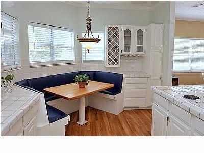 Kitchen Booth Instead Of A Breakfast Nooksuper Cute Except For Classy Kitchen Booth Designs Decorating Design