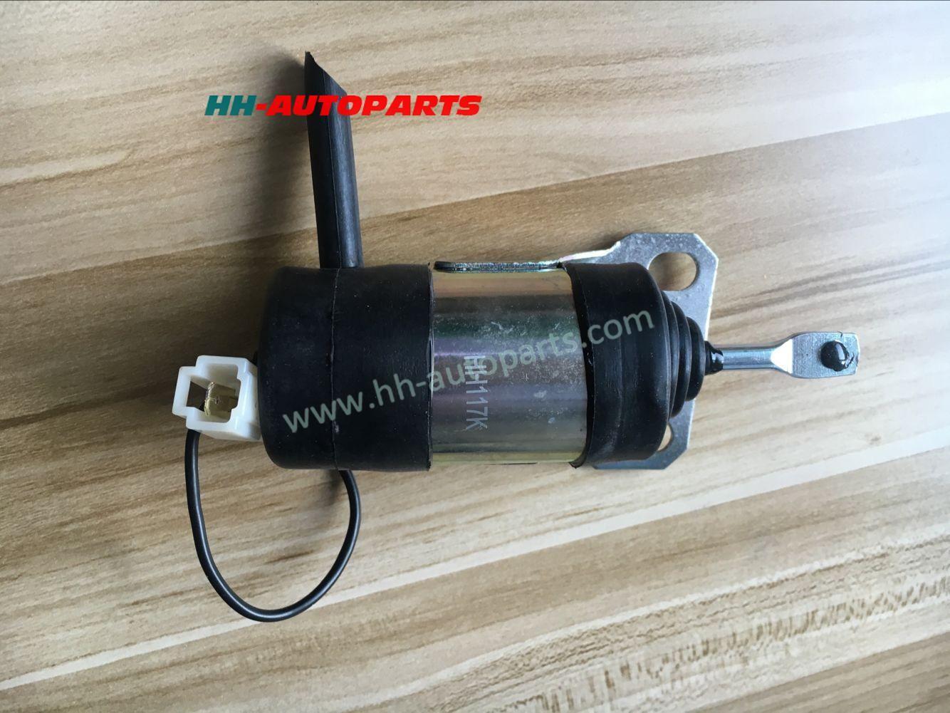 Kubota engine Shut off Solenoid 15471-60010 052600-1001 12V