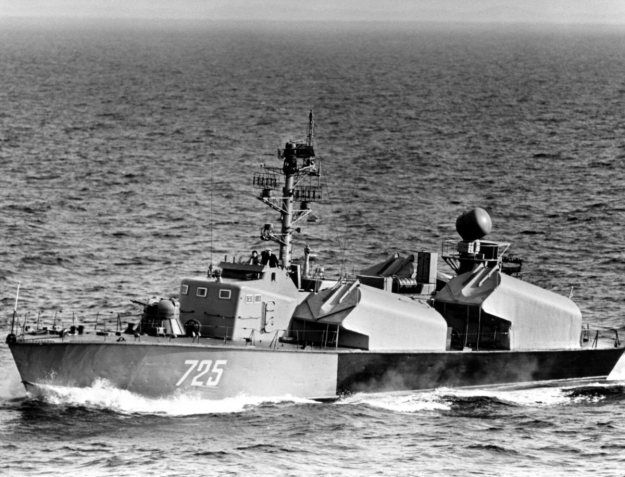 North Korea's small boat fleet consists of 10 Soju-class guided missile patrol boats,North Korean copies of 1950s-era Soviet Osa-1,with 4 SS-N-2A Styx ...