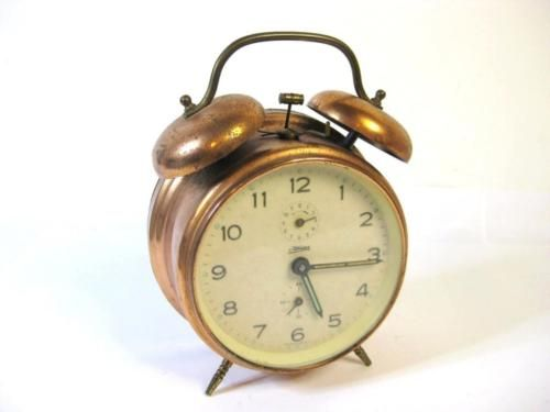 Vintage c1960s windup #copper tone tin &  kaiser w germany #alarm clock #(working,  View more on the LINK: 	http://www.zeppy.io/product/gb/2/391467736666/