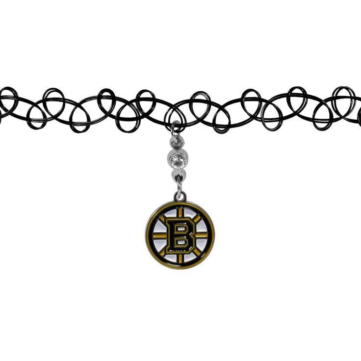 Boston bruins knotted choker boston bruins choker