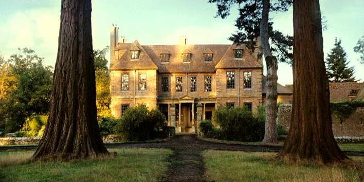 built in 1662, groombridge place in the english county of kent