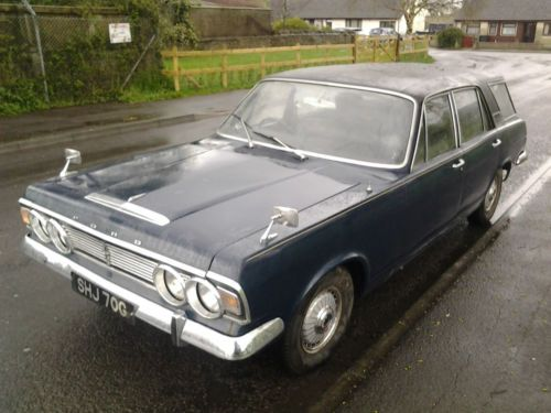 Ford Zodiac Farnham Abbot Estate Car 1969 British Cars Old Cars