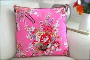 Pink Oriental Print