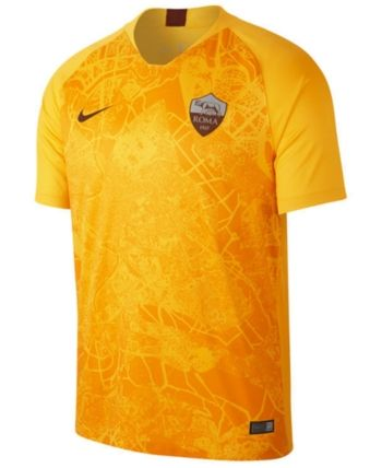 Nike Men s As Roma International Club 3rd Jersey - Yellow S in 2019 ... 38facbd46c836