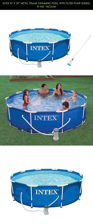 Großartig Intex Metallrahmen Pool Zusammenbruch Zeitgenössisch ...