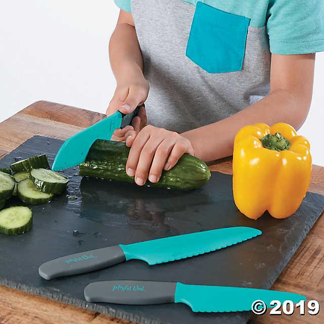 Playful Chef Safety Knife Set MindWare Cooking kits