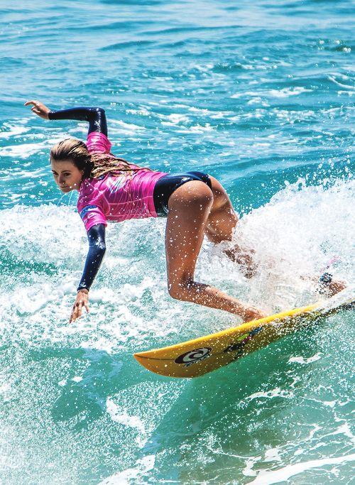 Alana Blanchard Supergirlpro Surf Girls Surfing Surfer Girl