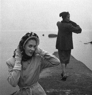 1945  by dovima_is_devine_II, via Flickr