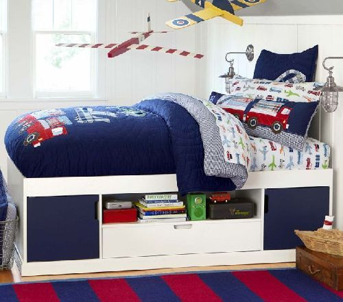 Boy Bedroom Storage: Cameron Storage Bed: Don't Waste The Space Under The Bed