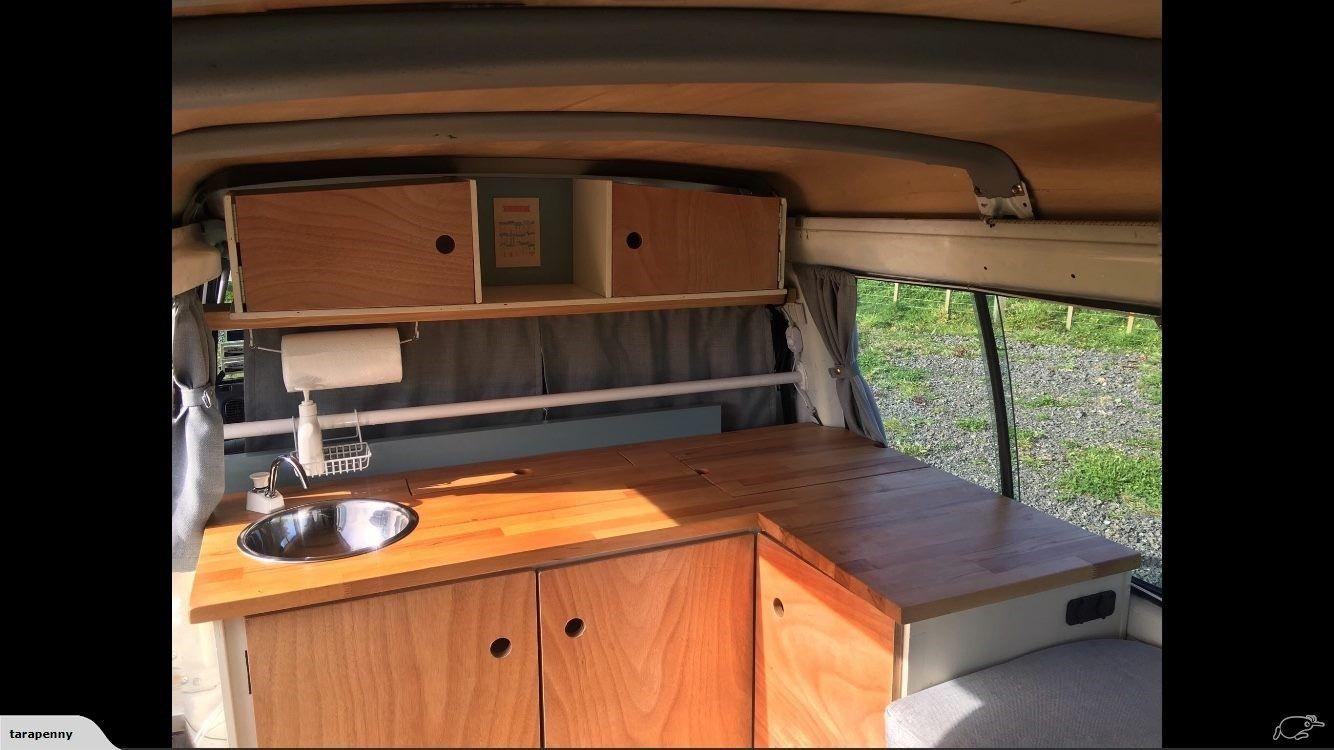 Hyundai H100 Camper Van Self Contained 2003 124k | Trade Me | motor