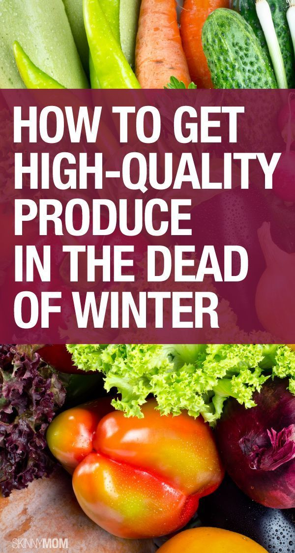 Here is your winter produce guide!