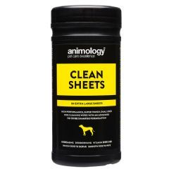 Animology Clean Sheets 80 Pack Dog Cleaning Clean Sheets Cleaning