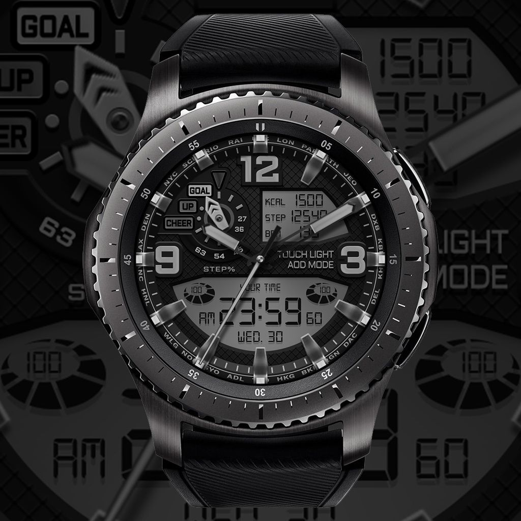 Watchface of Black Turtles – We are making the watch face of Samsung gear. Thank you for coming! (With images)