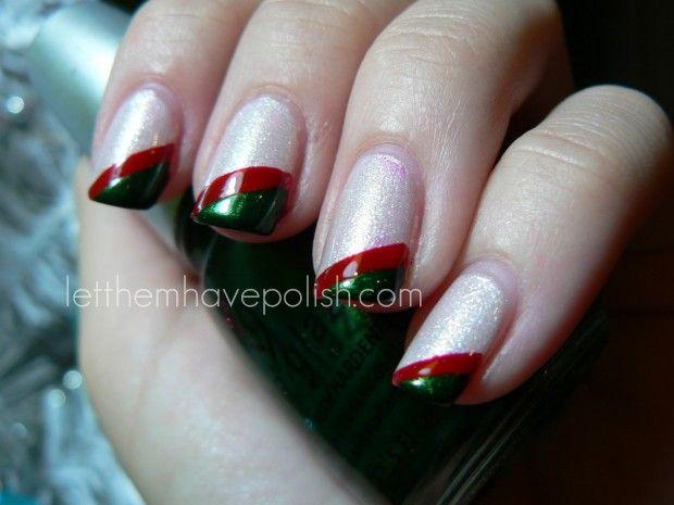 Uñas de Navidad – 50 excelentes ideas | Decoración de Uñas - Manicura y Nail Art - Part 2