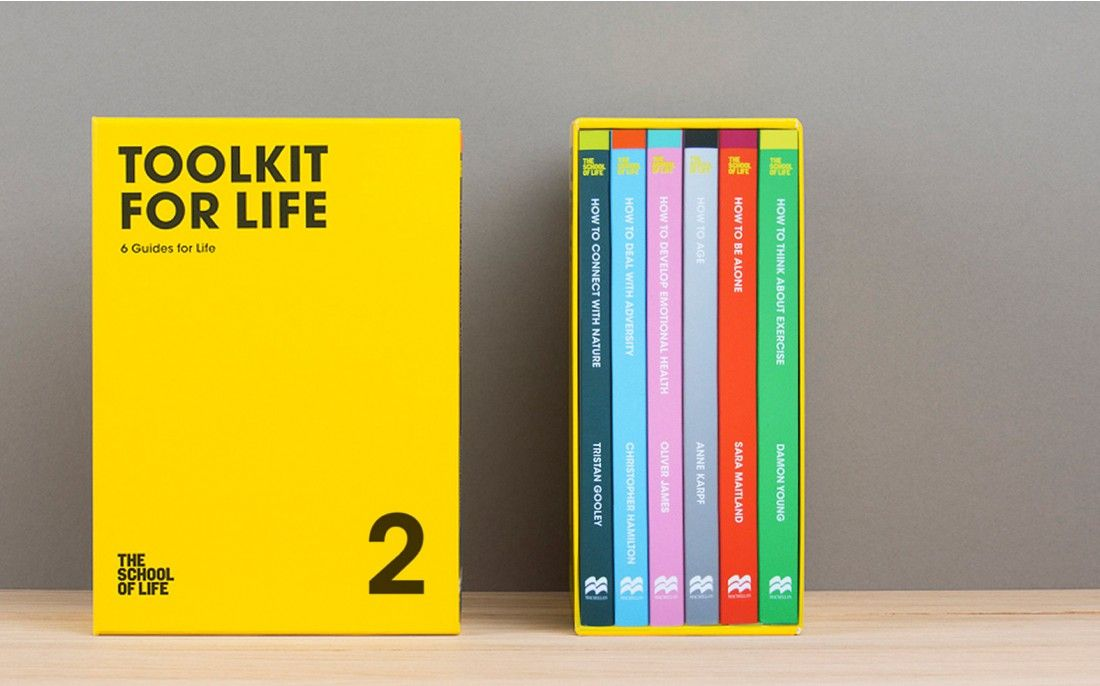 Toolkit for Life Vol.2 | A The School of Life 'How To' Book Series