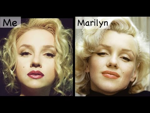 (5087) Marilyn Monroe Makeup Transformation Her tips and