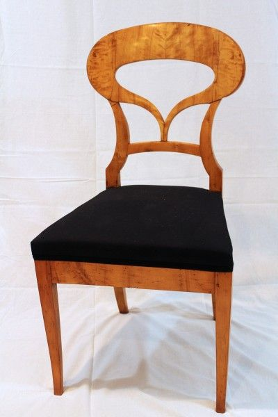 Biedermeier Chairs, Set of 4 Silke Berlinghof LLC Meubels