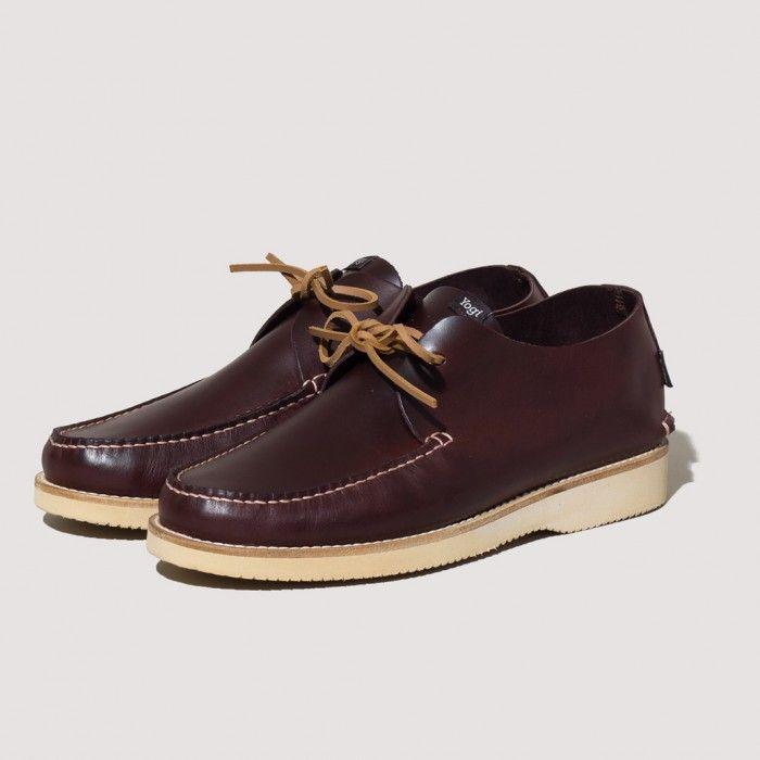 Lawson Leather Moccasin Vibram Sole - Oxblood
