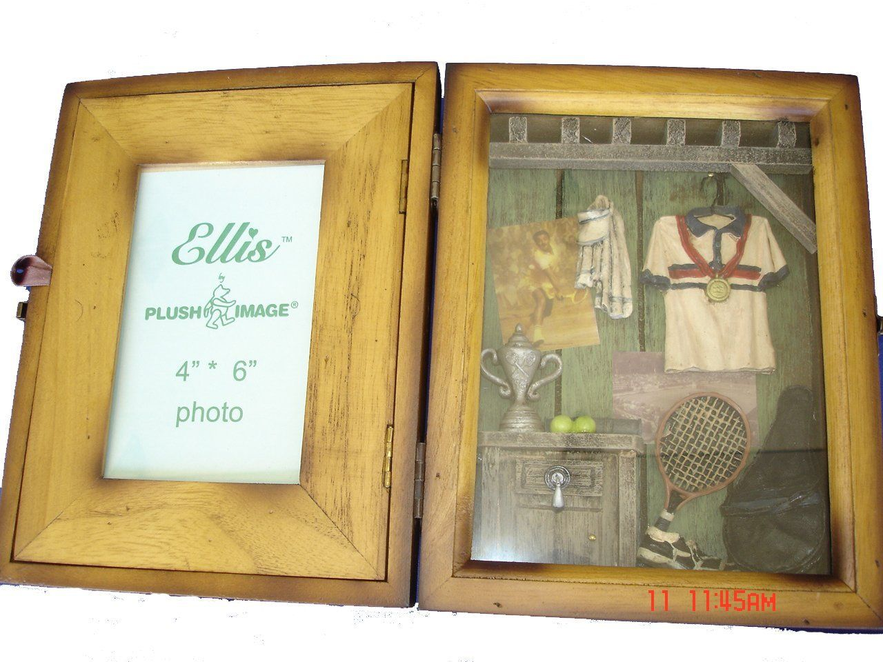 Tennis Shadow Box Picture Photo Frame - Great Gift for Home Decor ...