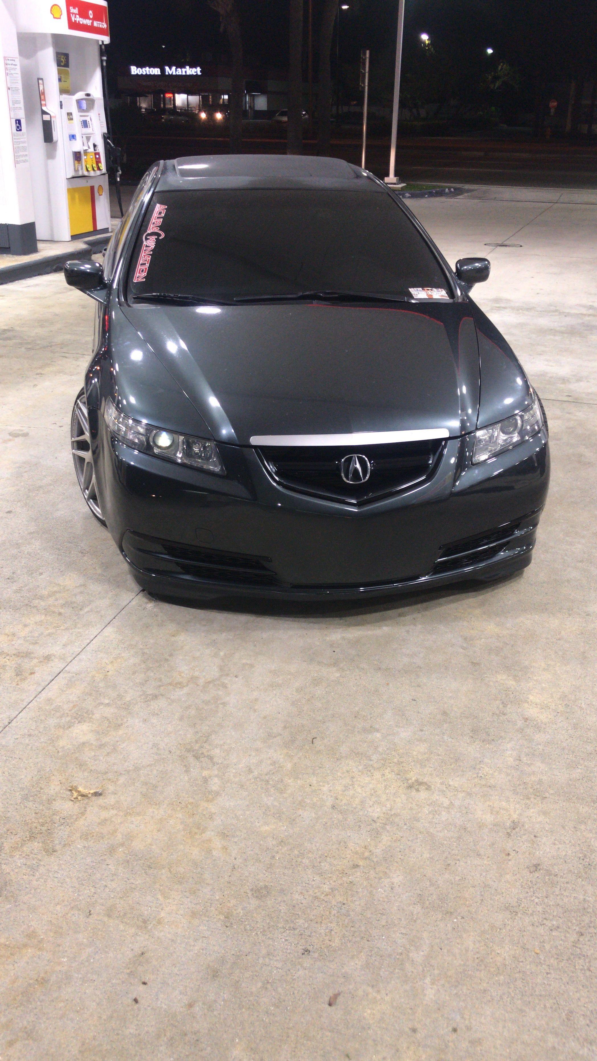 medium resolution of 2005 acura tl custom 2017 acura tlx front bumper