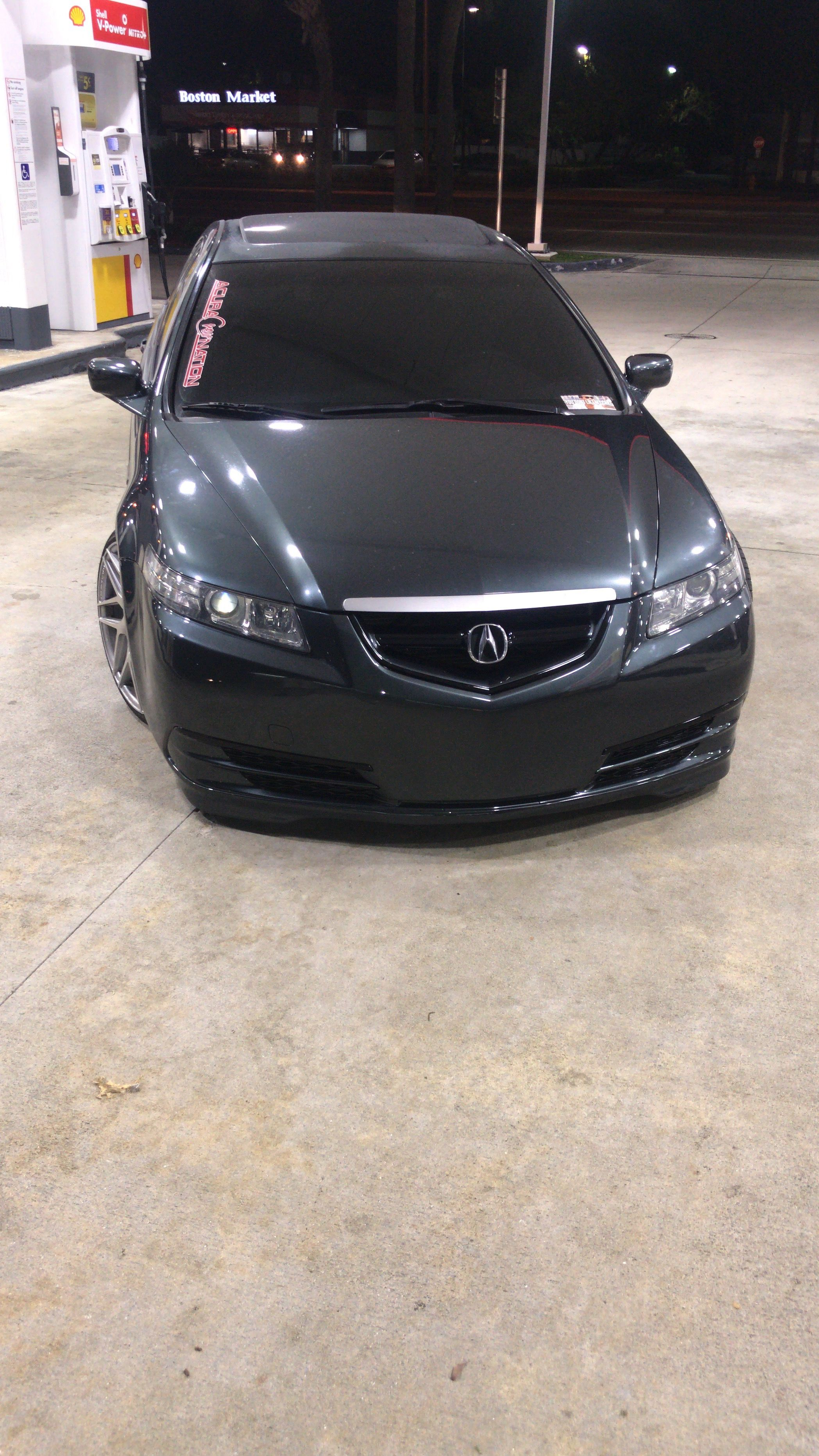 small resolution of 2005 acura tl custom 2017 acura tlx front bumper