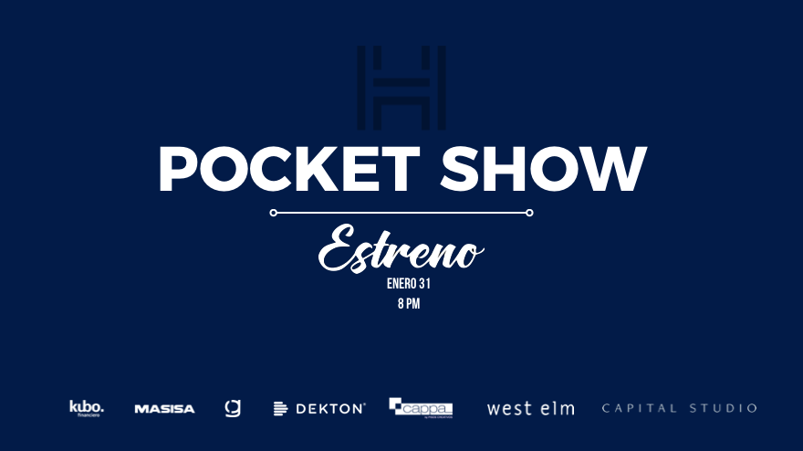 Estamos muy felices de anunciarles la fecha de estreno de nuestro pocket show. ¡No se la pueden perder!