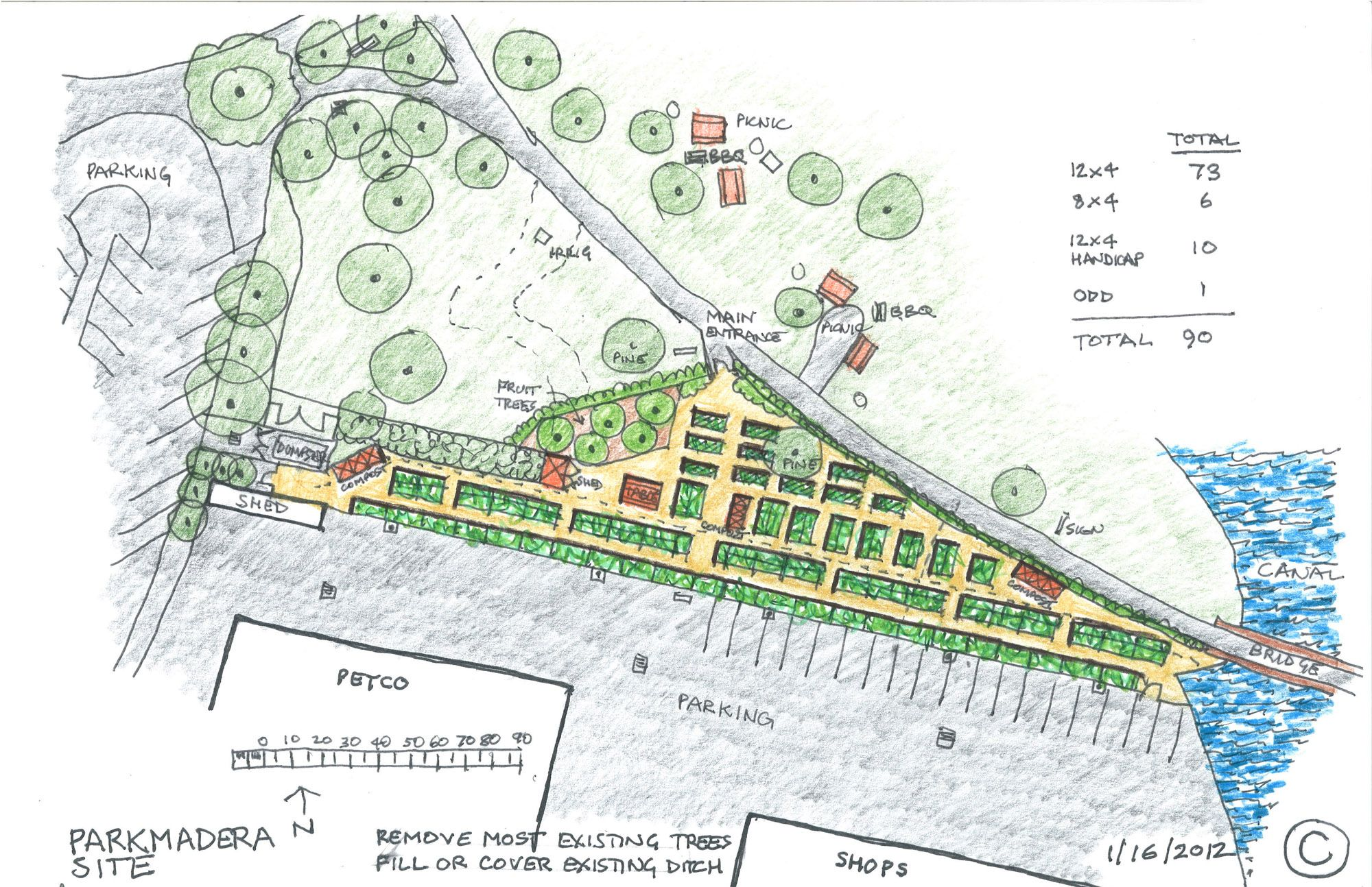 Terrific community garden layout design on garden design for Community garden designs