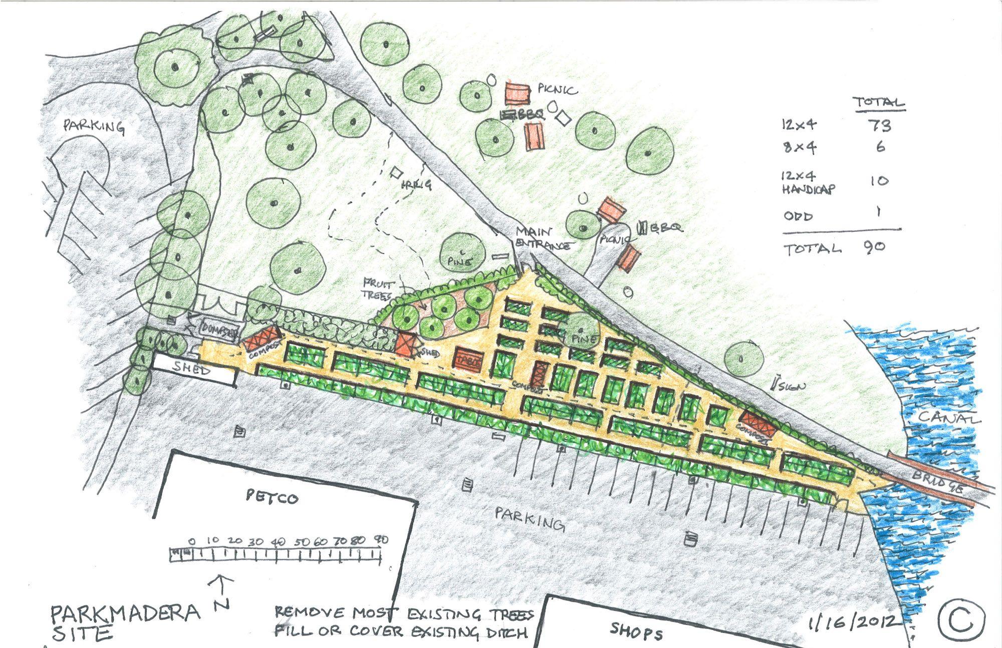 Terrific Community Garden Layout Design on Garden Design ...