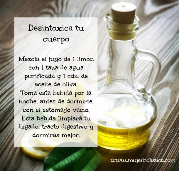beneficios de tomar aceite de oliva con limon en las mañanas