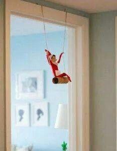 Elf just a swingin